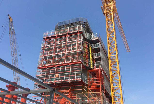 武汉建筑模板木方工程案例